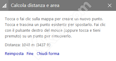 Bing Mappe - istruzioni