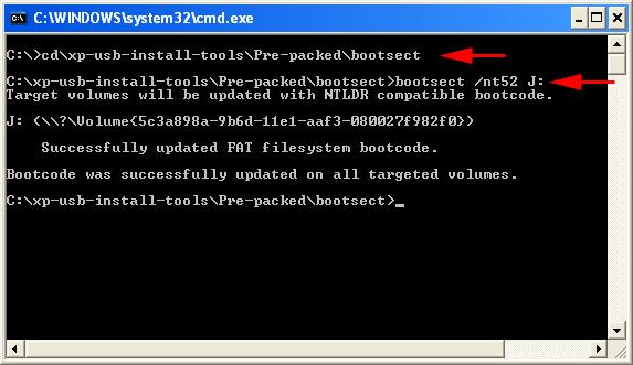 Installazione XP da Pendrive USB