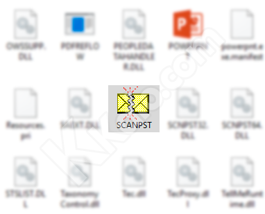File SCANPST.exe