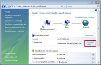 Cambiare l'indirizzo IP statico/dinamico in Windows Vista