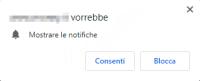 Come rimuovere/disattivare le notifiche ricevute dai siti internet da browser Chrome, Firefox, Edge