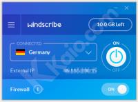 Windscribe, navigare tramite VPN e IP anonimo con facilità