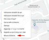 Come misurare distanza e area su Google Maps e Bing Mappe