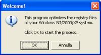 Guida a ERUNT e NTREGOPT, deframmentare il registro di sistema di Windows