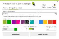 Windows Tile Color Changer e Win10Tile, due programmi gratuiti per personalizzare i tile del menu Start di Windows 10