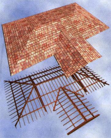 Archline xp tetti e travature for Tipi di tetto