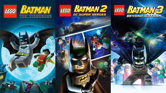 Lego Batman Trilogy