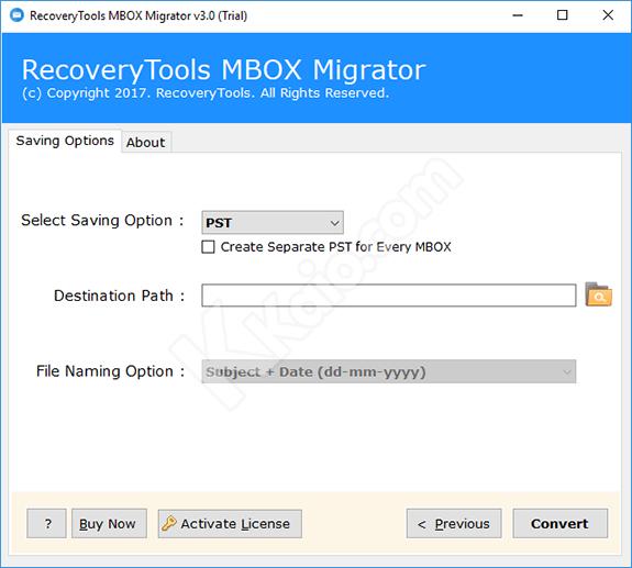 MBOX Migrator