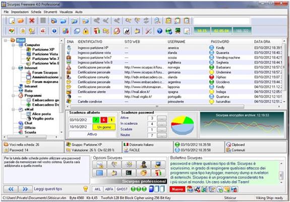 Sicurpas Freeware 4 Professional